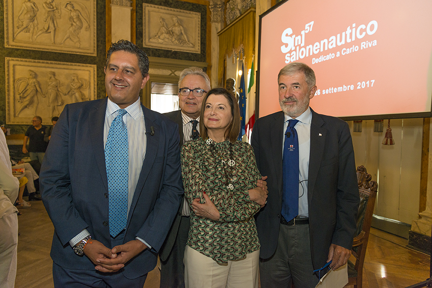 57°Salone Nautico di Genova – Presentazione ufficiale 05.09.17