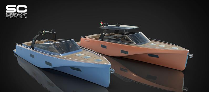 Da Heron Yacht le novità T-Top e Open di Heron 56