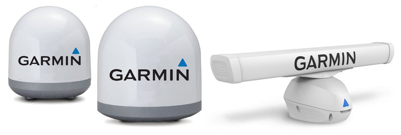 Da Garmin nuove antenne TV e radar più potenti