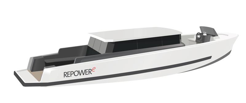 """Da Repower la """"full electric boat"""" REPOWERe"""