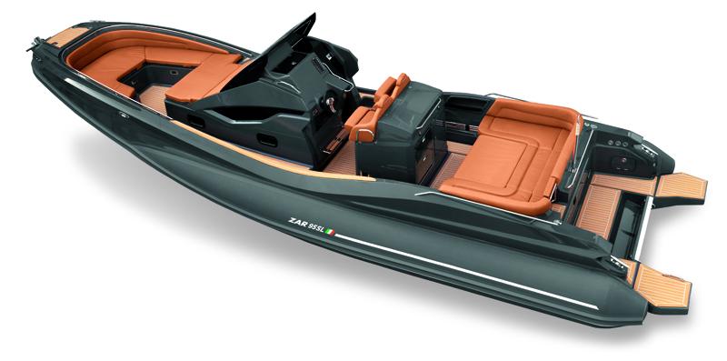Lo Zar 95 Sport Luxury in prima mondiale al Salone