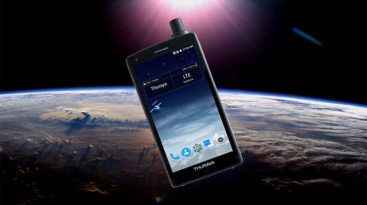 Thuraya X5 Touch: il satellitare diventa smart