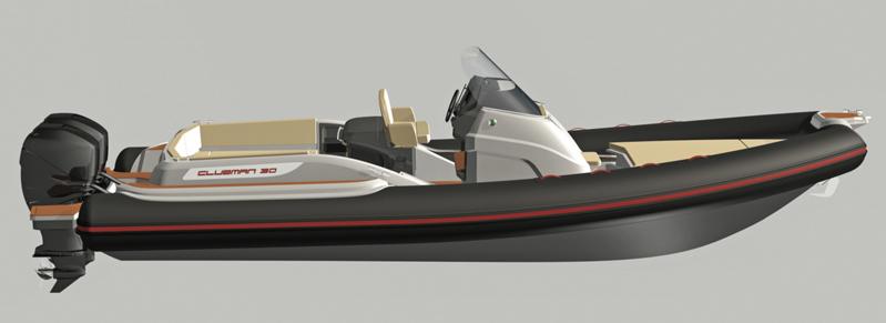 È in arrivo il Clubman 30' di Jokerboat