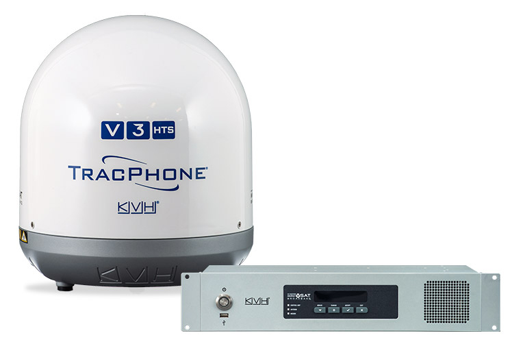 Anche in Italia da KD la nuova antenna TracPhone V3HTS