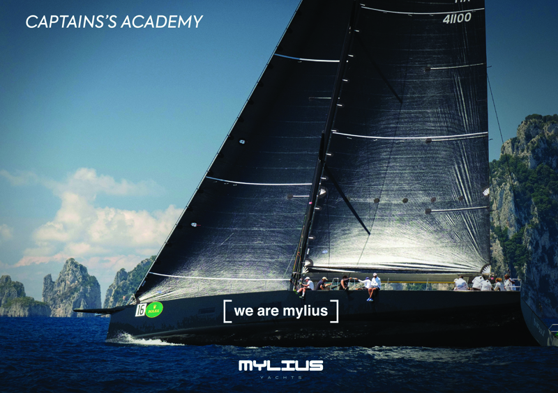 MYLIUS YACHT TO ORGANISE THEIR CAPTAIN'S ACADEMY EVENTS