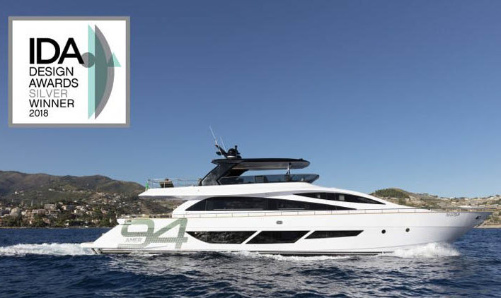 AMER YACHTS WINS THE INTERNATIONAL DESIGN AWARDS