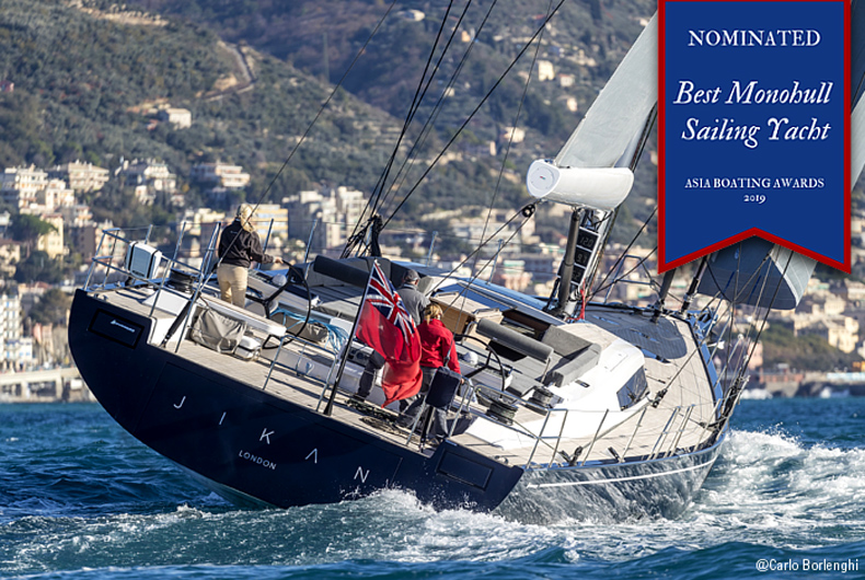 NOMINATION PER JIKAN DI ADVANCED YACHTS ALL'ASIA BOATING AWARDS