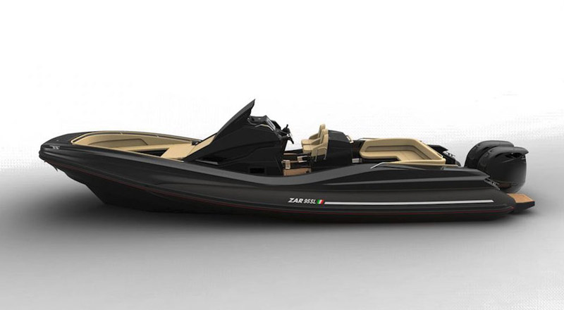 Lo Zar 95 Sport Luxury protagonista in California