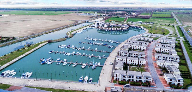 Taglio del nastro per Marina di Porto Reno con i suoi 334 posti barca