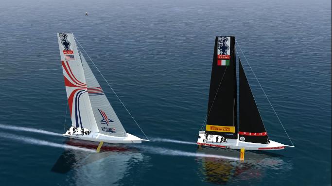 Le Series della 36a Coppa America a Cagliari nel 2020