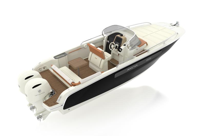 Invictus Yacht al 59° Salone Nautico con il nuovo CX270