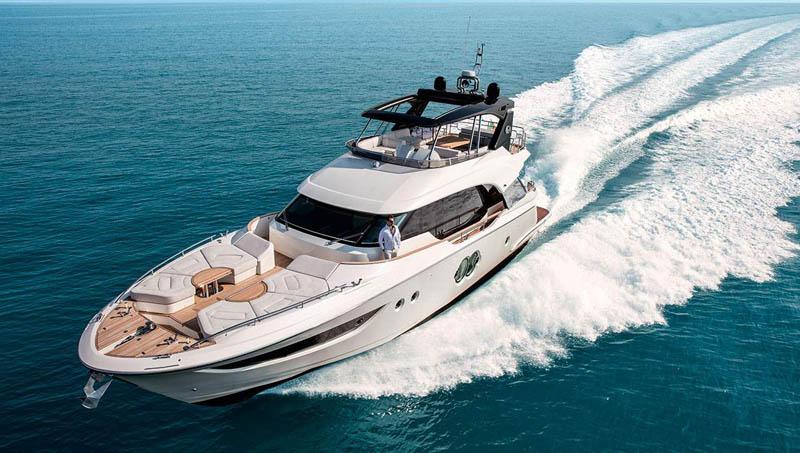 Monte Carlo Yachts al 59° Salone Nautico con il nuovo MCY 70