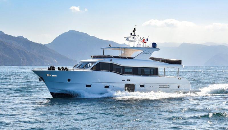 Nomad Yachts fa il suo esordio al 59° Salone Nautico con il Nomad 75