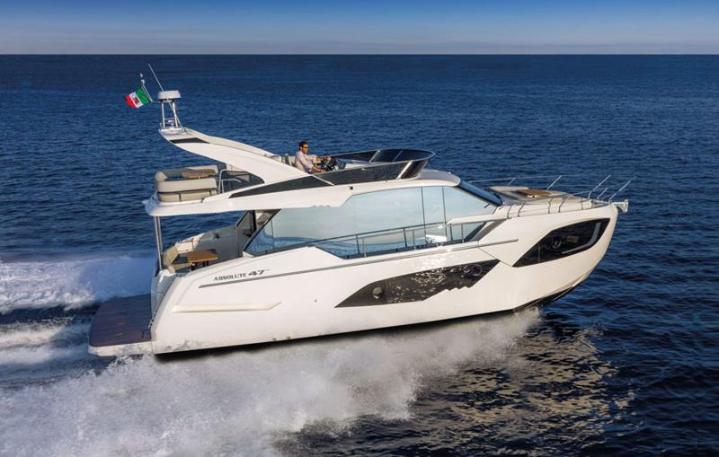 Due le novità presentate da Absolute Yachts al 59° Salone Nautico: la Navetta 68 e il 47 Fly