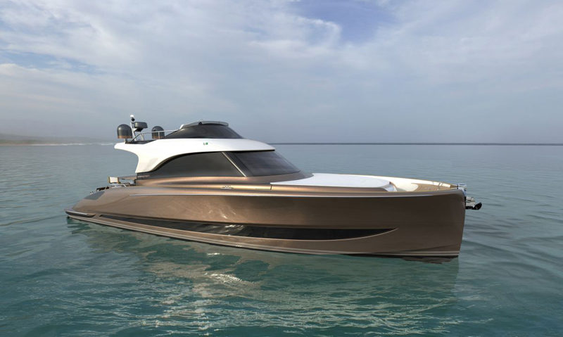SOLARIS POWER UNVEILS ITS 48 LOBSTER FLYBRIDGE AT BOOT