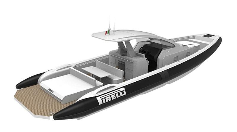 TecnoRib al Boot con il nuovo Pirelli 42