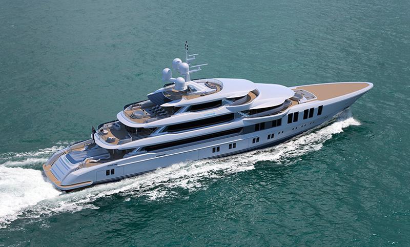 Il design italiano di Andrea Vallicelli per Turquoise Yachts