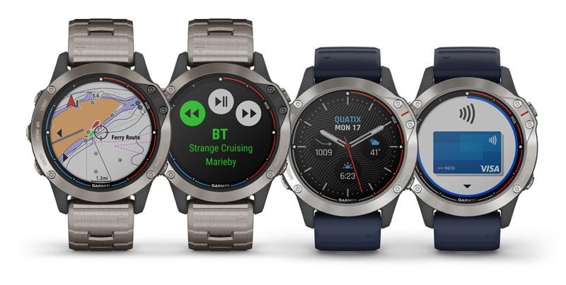 Garmin presenta il nuovo smartwatch multisport  Quatix 6