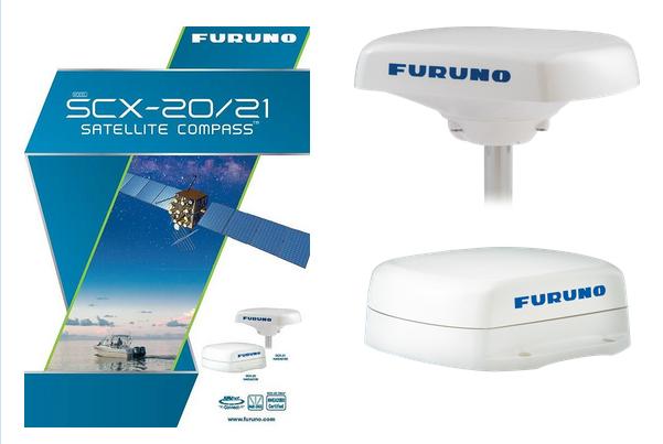 Da Furuno le bussole satellitari SCX20 E SCX21