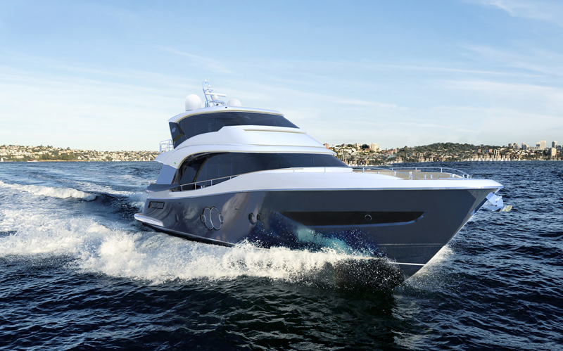 Da Monte Carlo Yachts il nuovo MCY 76 Skylounge