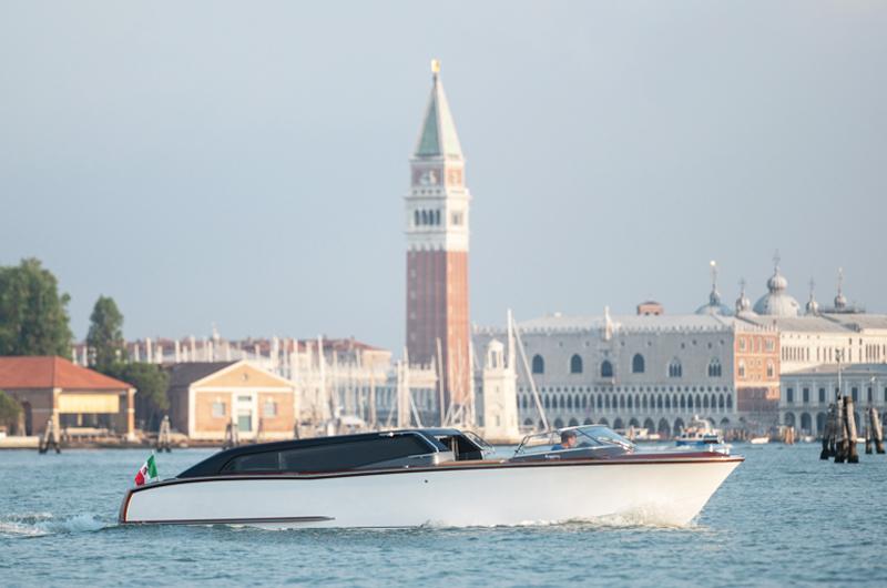 Un water taxi ibrido per Venezia da Carlo Nuvolari e Dan Lenard