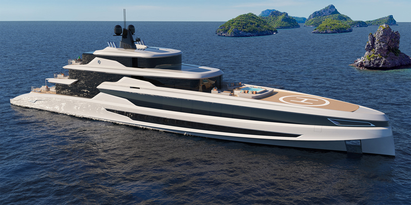Fincantieri Yachts presenta il 70 metri Blanche