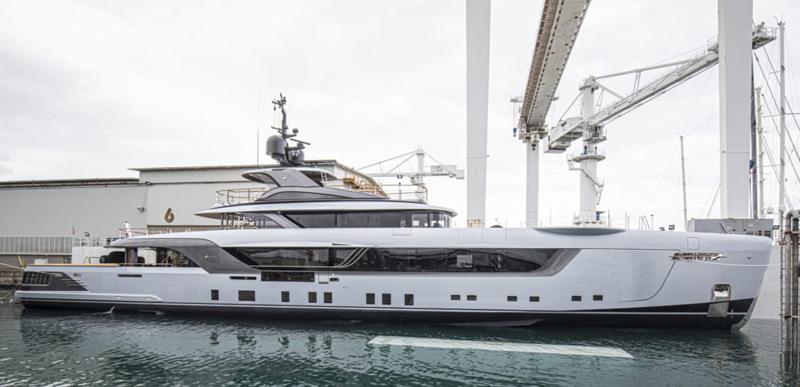 L'Admiral di 55 metri Geco segna la ripresa di Italian Sea Group