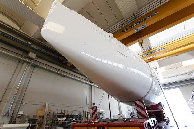 L'Italia Yachts 14.98 Bellissima in dirittura d'arrivo