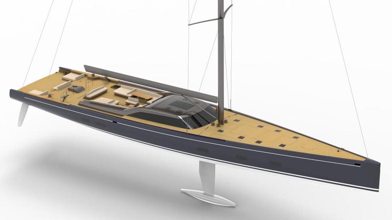 Nauta Design firma il nuovo R/P – Nauta 151'