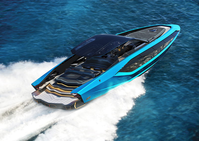 The Italian Sea Group svela il Tecnomar for Lamborghini 63