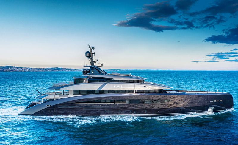 CRN DELIVERS THE 62-METRE M/Y 137 VOICE