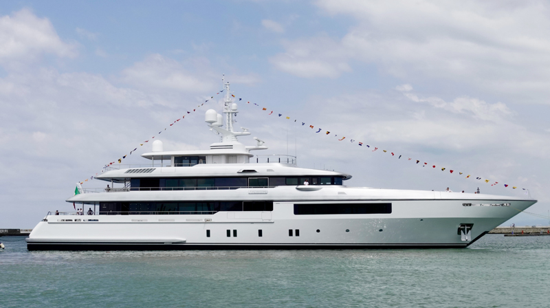 Cantieri Navali Codecasa vara un nuovo 55 metri