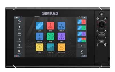 Da Simrad il nuovo chartplotter e fishfinder SIMRAD® NSS evo3S