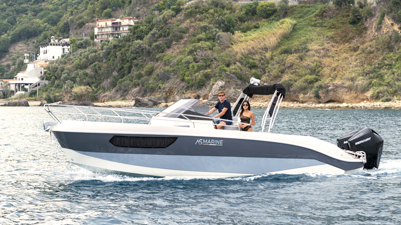 AS Marine presents the new AS 28 GL