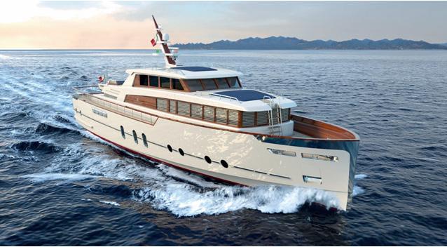 I Canteri Navali Codecasa con Luca Dini lanciano l'esclusivo Gentleman's Yacht