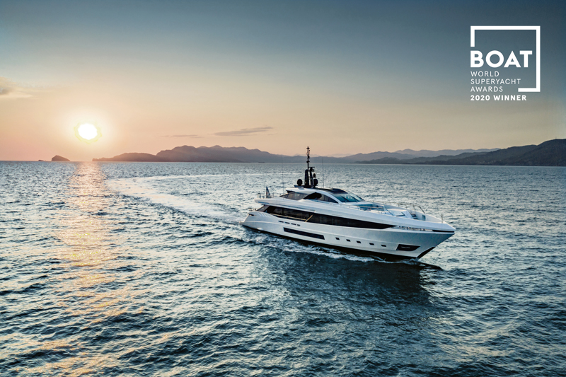 Il Mangusta GranSport 45 vince ai World Superyacht Awards