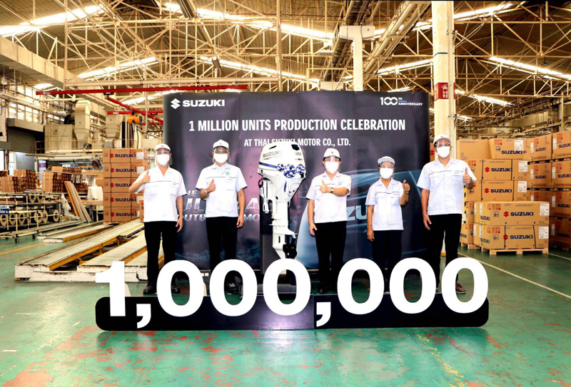 Un milione di fuoribordo Suzuki dalla Thailandia