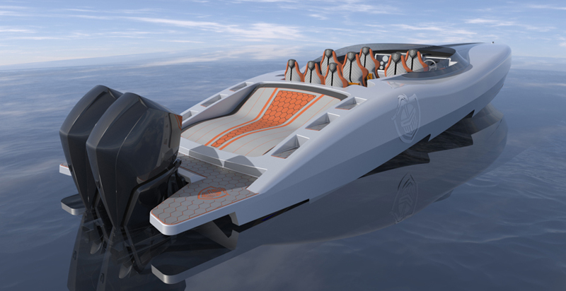 Prosegue la costruzione del primo Canados Gladiator 411 Carbon Series