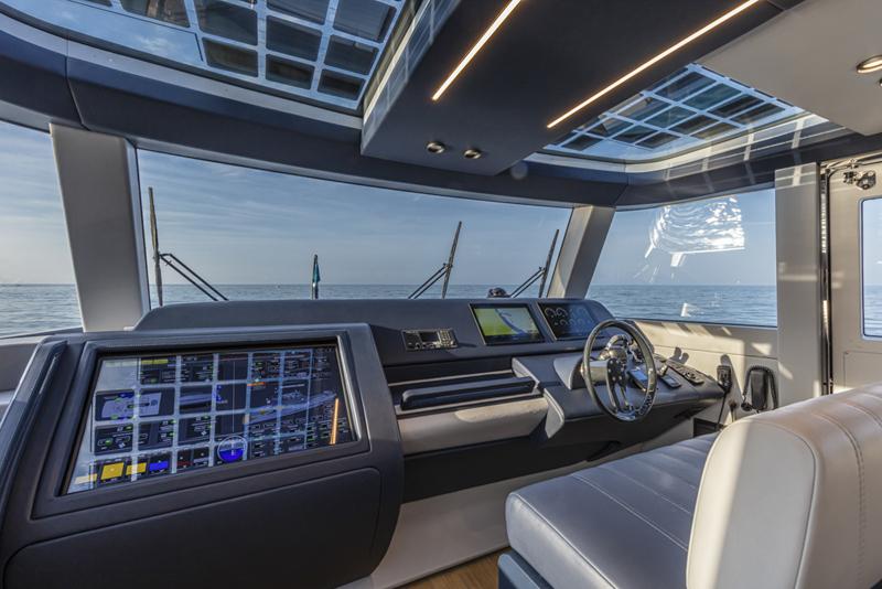 Onyx Marine di TEAM Italia Group a bordo di Extra 86