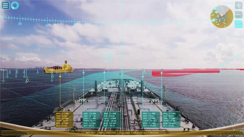 Da Furuno Italia la Realtà Aumentata di Furuno Envision AR Navigation System