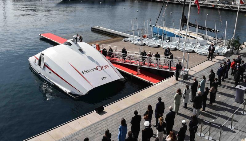 Battesimo per Monaco One il super-cat Monaco – Cala del Forte