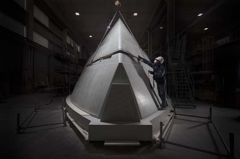 Pershing dà il via Progetto TØ con un 35 metri