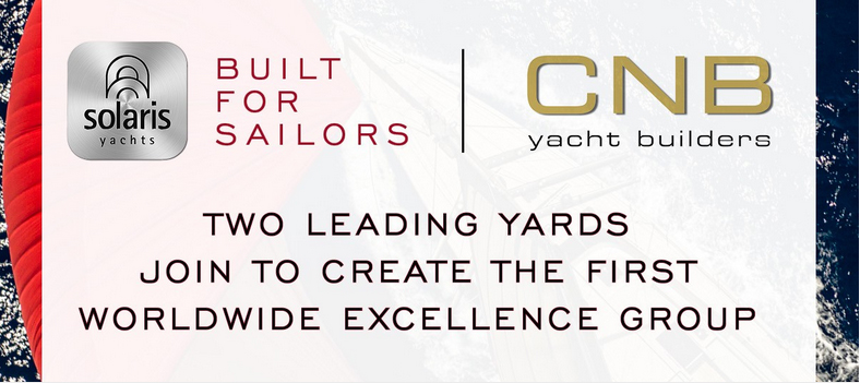 CNB e Solaris Yachts uniti per l'eccellenza