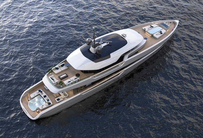 Columbus Yachts presenta l'Atlantique 43m