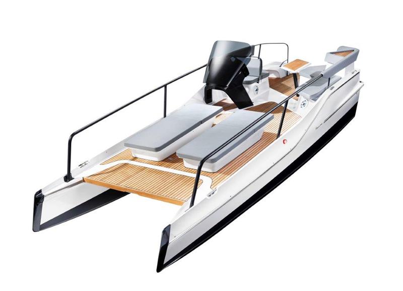 Cantiere Feltrinelli presenta il TimeSquare 20 di Frauscher Boats