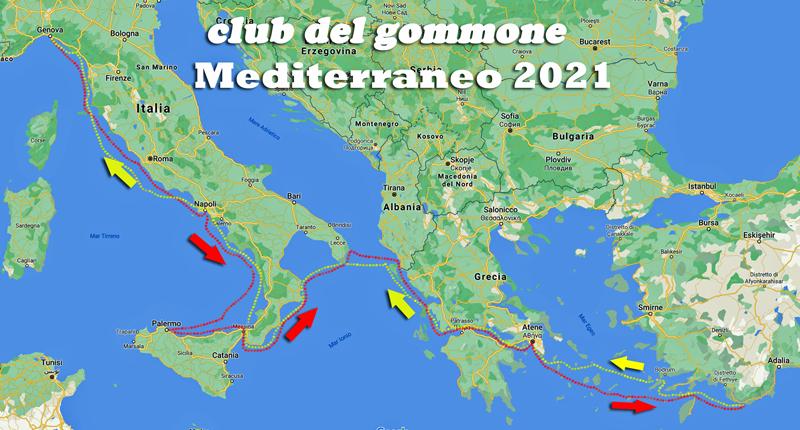"""Con Suzuki e Nuova Jolly sulla rotta di """"Mediterraneo 2021"""""""