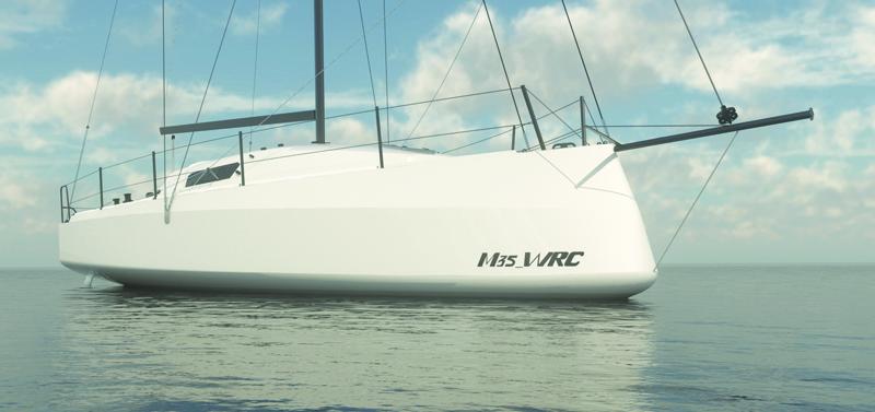 Moana Shipyard presenta il nuovo Moana 35' WRC