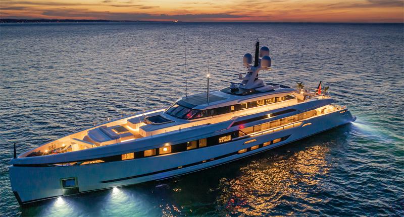 Columbus Yachts presenta il 50 metri Sport M/Y K2