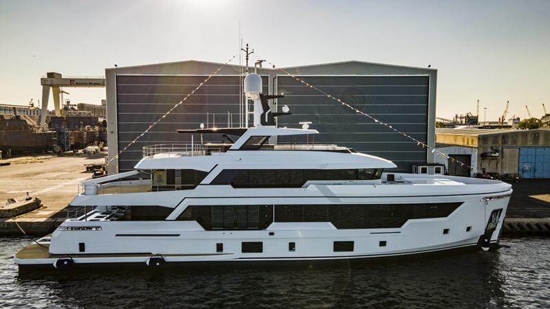 Rosetti Superyachts vara il RSY 38m EXP